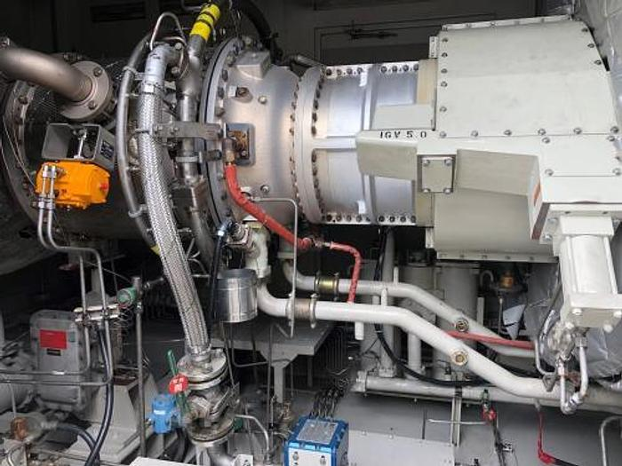 Used 5.3 MW 2013 Used Solar Taurus 60 Natural Gas Turbine Power Plant