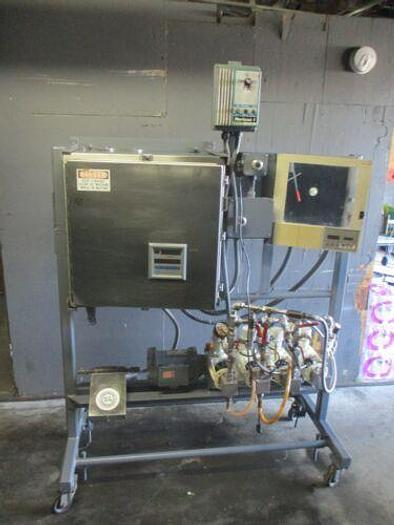 Used ALFA LAVA/BRAN LUEBBE N-P34 PUMPING SYSTEM W/MICRO MOTION FLOW