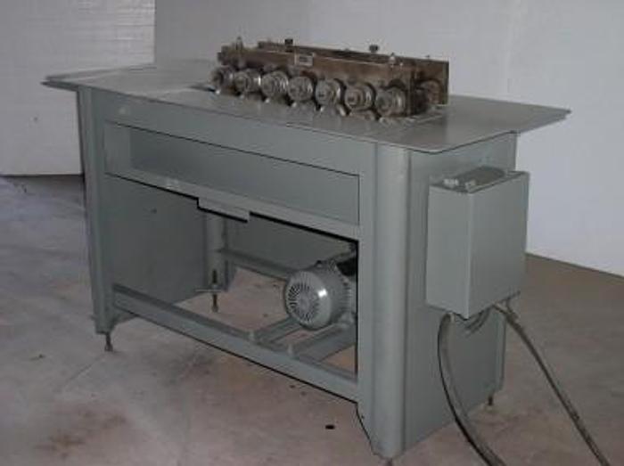 "16 ga. "" Pittsburgh "" Lockformer Lock Roll Former; HVAC Machine"