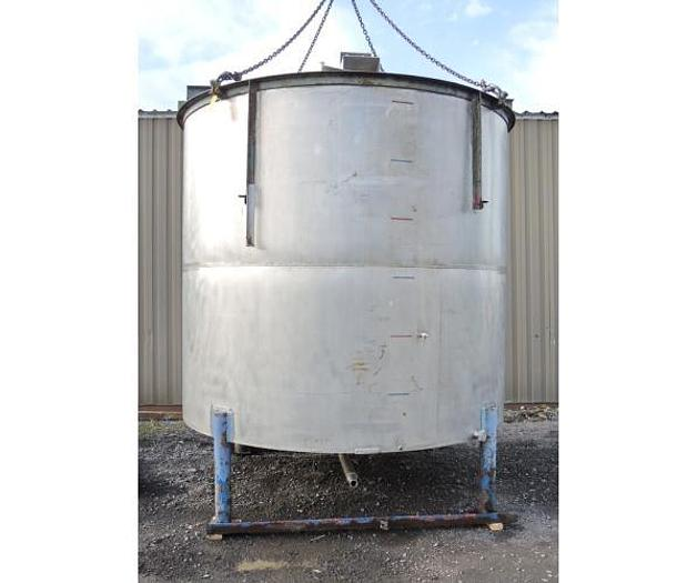 USED 3850 GALLON TANK, STAINLESS STEEL