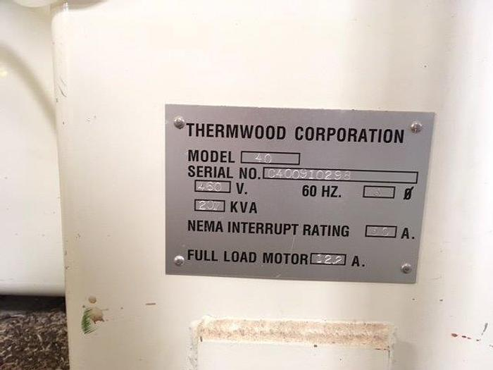 Used THERMWOOD, No. 40, GEN2 WINDOWS XP, 1998, 15,000 RPM [4874]