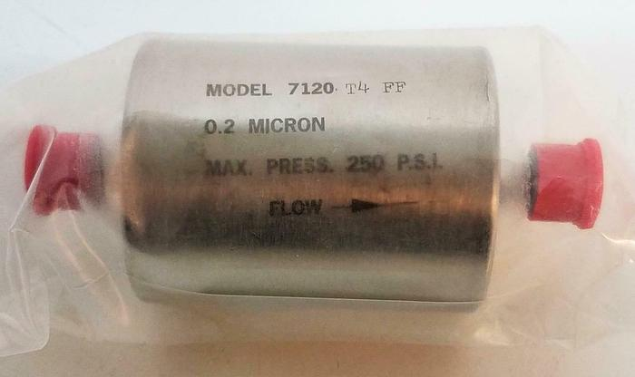 Praxair Prostar 7120-T4FF 0.2 Micron Gas Fuel Filter Lot of 2  (6816)