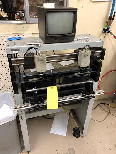 Used JM HEAFORD MOUNTER PROOFER TWO CAMERA