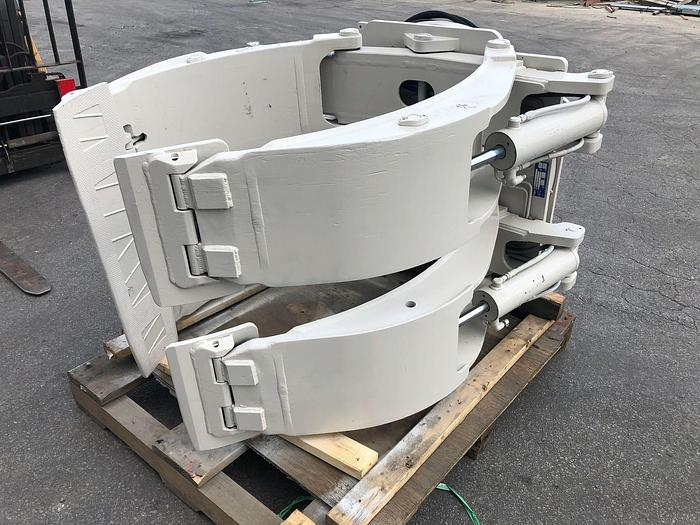 """Used 72"""" CASCADE PAPER ROLL CLAMP MODEL 77F-RDP-144"""