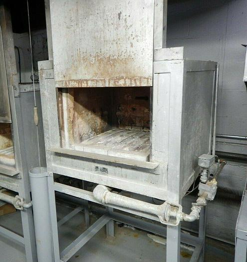 Used Hones Buzzer Industrial High Temp Burnout Furnace Oven Nat Gas 2000F