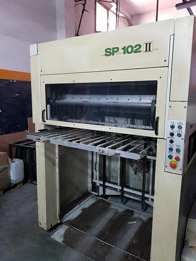 2000 BOBST Autoplatine SP 102 II