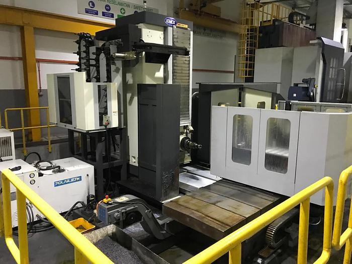 Used 2015 FEMCO BMC-110 T2 HORIZONTAL CNC MILLING MACHINE