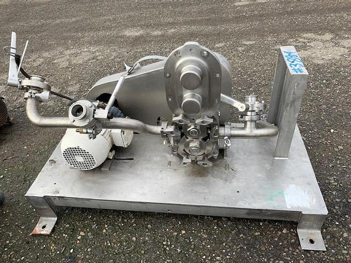 Used Waukesha Model 30- U1-12 Positive Displacement Pump