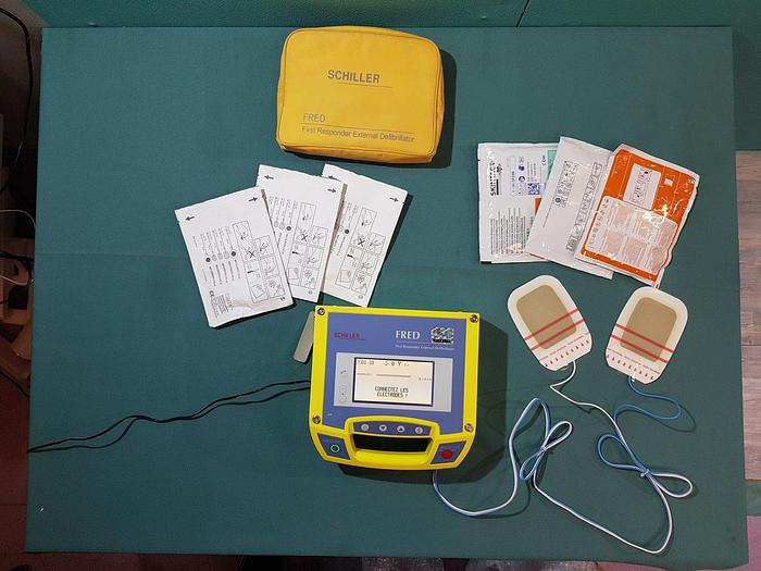 Gebraucht Schiller Fred Defibrillator