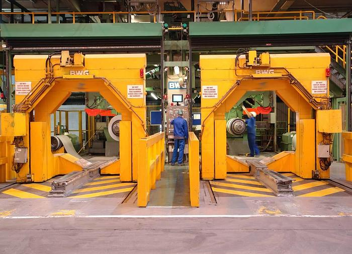 """64"""" BWG Uncoilers, Recoilers, Coil Cars: M-331"""