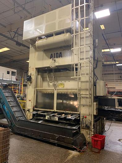 "330 ton AIDA 96""x55"" Link-Drive Stamping Press"