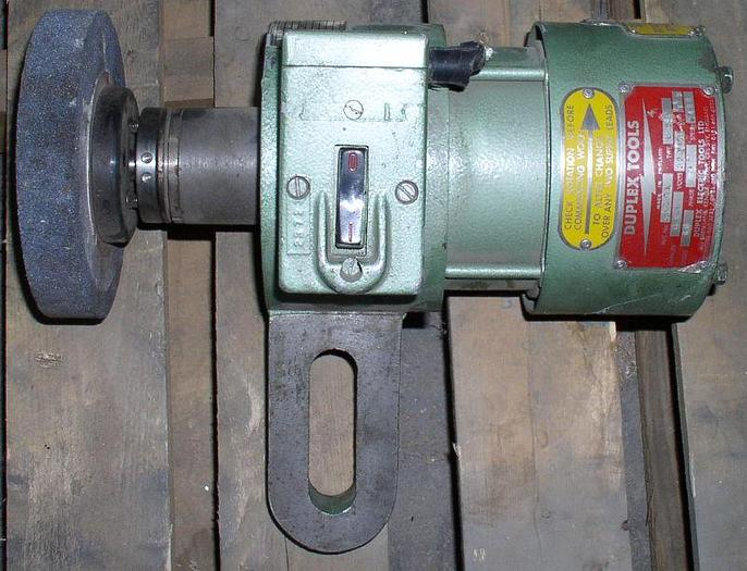 Duplex Tool Post Grinder