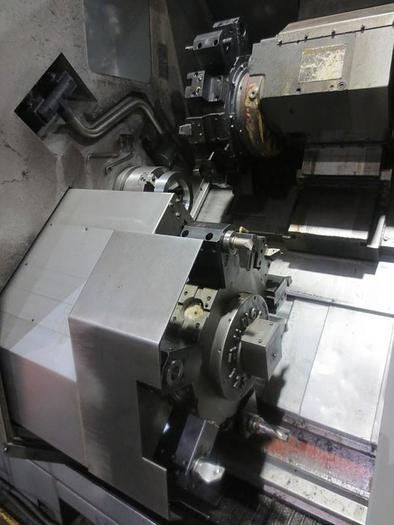 HYUNDAI-KIA SKT250TTSY TWIN TURRET, CNC LATHE