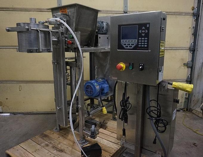NEW – OPEN MOUTH FOOD GRADE AUGER PACKER – (#9658)