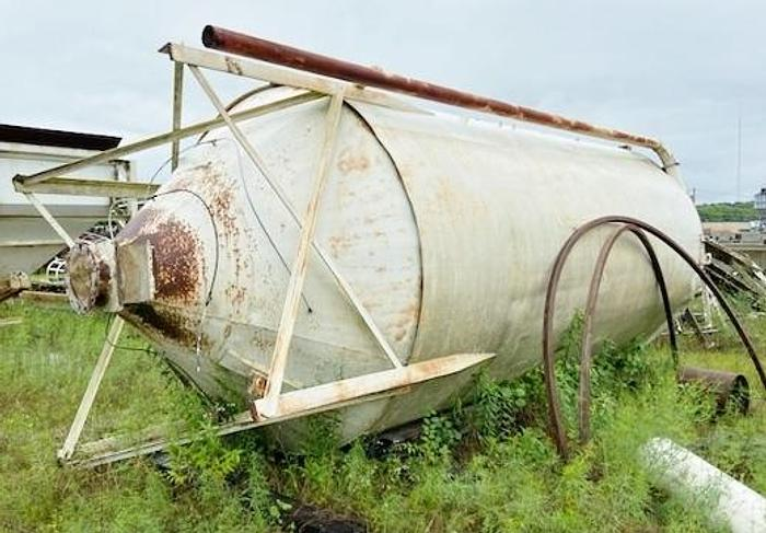 Used Belgrade 50 Ton Cement Silo, Dust Collector and Auger