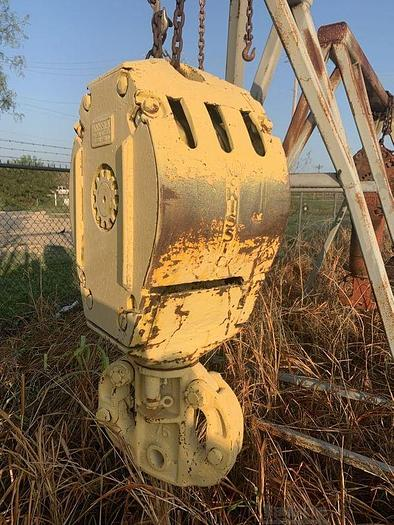 Used MCKISSICK WELL SERVICE BLOCK 3 SHEAVE