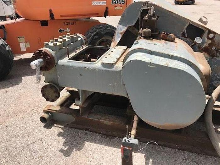 Used OILWELL 336 - TRIPLEX PUMP