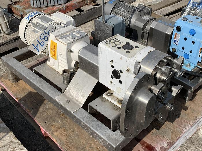 "Used AMPCO 2""x 2"" Postive Displacement Pump"