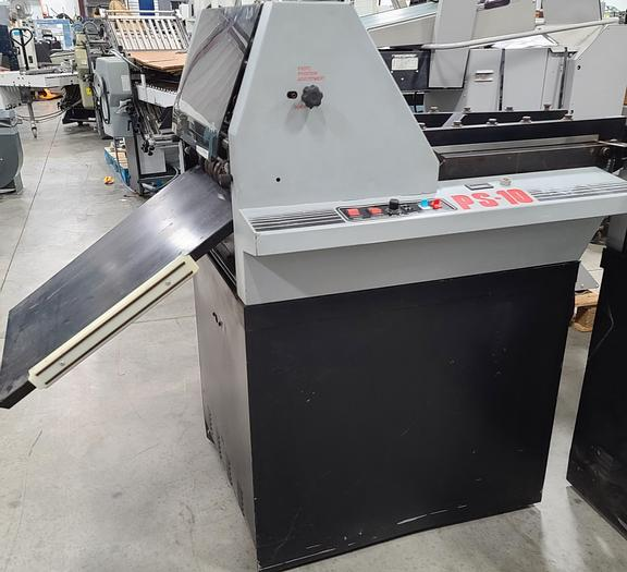 Used Pierce PS 10 Suction-Feed Rotary Numbering Machine