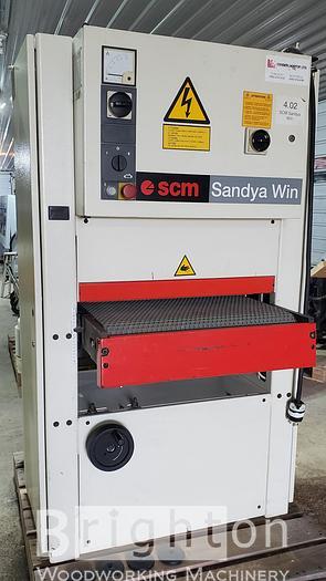 Used 2001 SCM Sandya Win CS63, Used Widebelt Sander