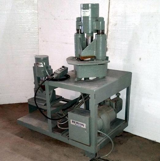 Used 18-Ton Whitney Hydraulic Shear/Notcher/Bender