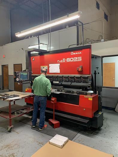 Used 1999 88 Ton Amada FBD-8025NT CNC Press Brake