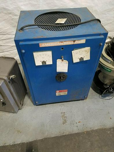 Used ARC 100 AMP DC Power Supply Rectifier Plating FOR PARTS ONLY