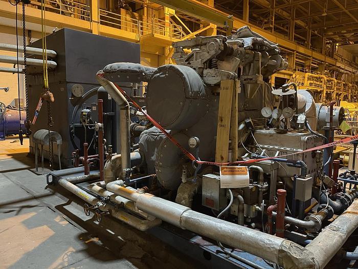 Used 10 MW TURBINE GENERATOR EM ELECTRIC MACHINERY BRUSHLESS SYNCHRONOUS GENERATOR REBUILT 2018