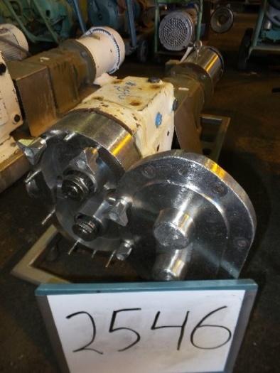 Waukesha Model 60 UI Positive Displacement Pump #2546