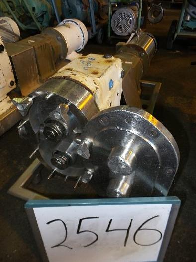 Waukesha Model 60 UI Positive Displacement Pump