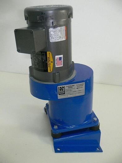 Used Cleveland FRG-1 Top Mount Mixer w/ Baldor 1/4 HP Motor KM3454