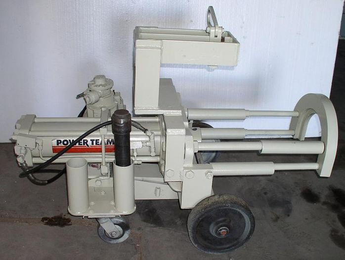 Used 100 Ton OTC/ Power Team/ SPX Bearing Press/ Puller