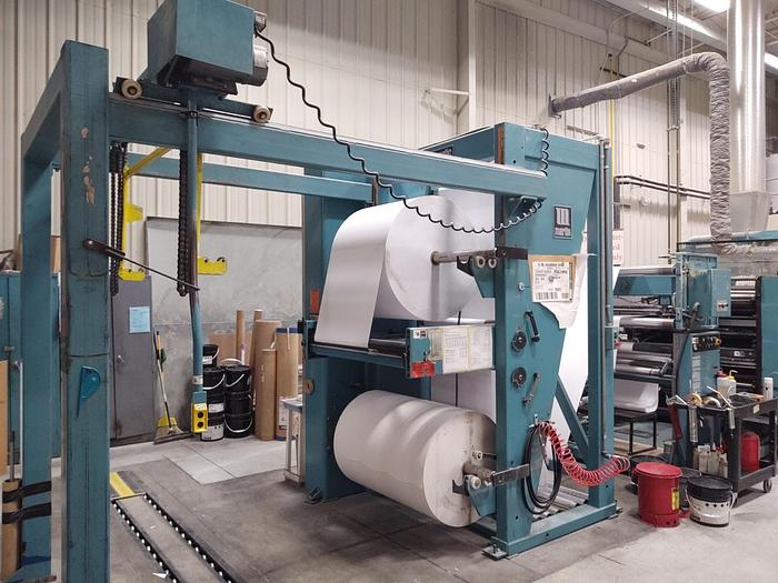 """Used 1988 Timson T32 Single Color Web Offset Press - 42"""" Circumference x 46.5"""" width"""