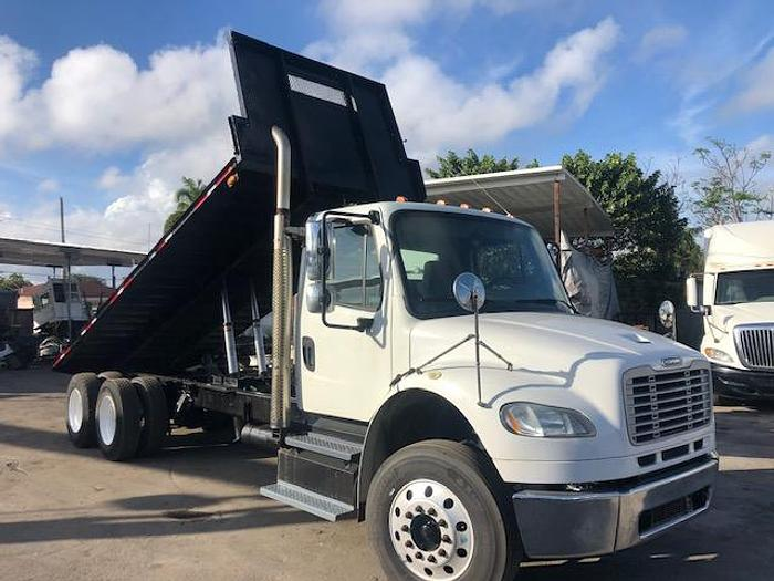 Used 2013 FREIGHTLINER M2 DUMP FLATBED 20FT