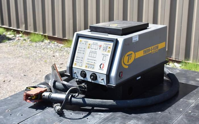Used USED GRACO THERMOFLOW T7 HOT MELT TANK