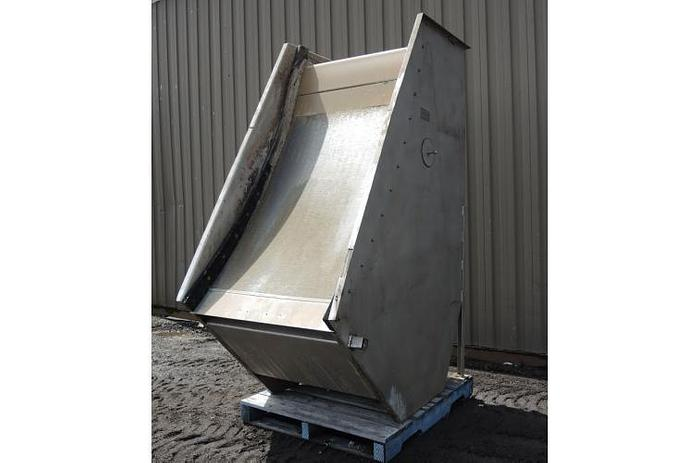 """USED SWECO SCREEN, 40"""" WIDE, STAINLESS STEEL"""