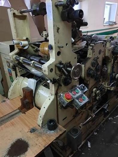 Used TATRAN  - SOS paper bag making machine with In-line 4 colors printer