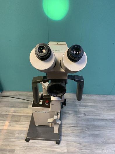 Gebraucht Olympus OCS Kolposkop + OB 300 f = 300 Linse, Lichtquelle, 2x G20X Okularen