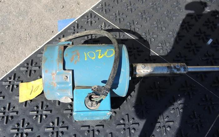 USED TOP ENTRY MIXER, 0.5 HP