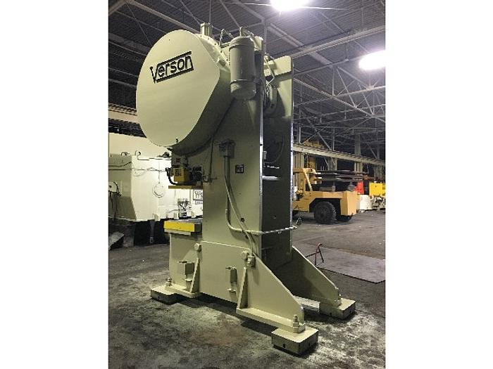 110 ton Verson OBI Used Mechanical Press