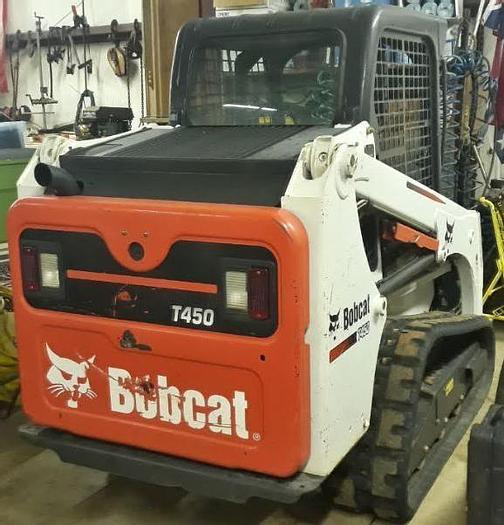 Used 2016 BOBCAT T450