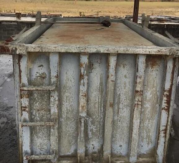 Used 900 GAL Precast Septic Tank Forms (4)