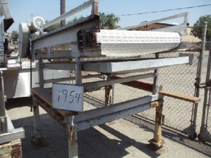 4' Wide x 8' Long Intralox Conveyor #1954
