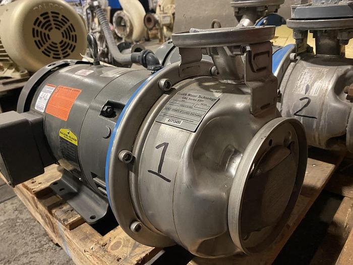 Used GOULDS WATER TECHNOLOGY G&L SERIES SSH 1 X 2 - 8 PUMP UNUSED SPARE