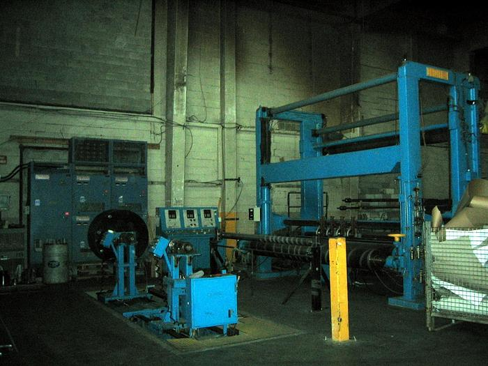 """Used 150"""" (3.81M) BELOIT SLITTER REWINDER (2) 50 HP MOTORS WITH UPDATED DRIVE SYSTEM"""