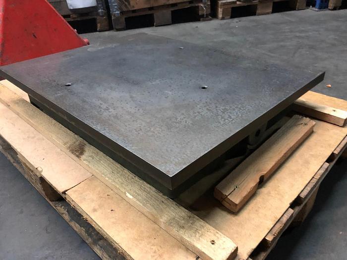 Anreissplatte aus Stahl Tuschierplatte 800 x 600mm