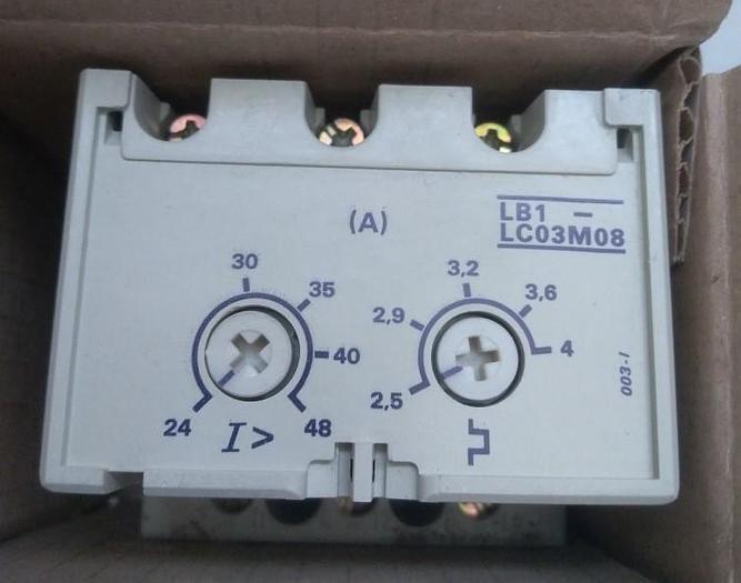 Gebraucht Überlastschalter, Protection Modul LB1-LC03M08, Telemechanique,  gebraucht