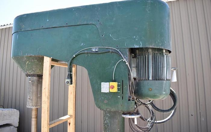 USED BOWERS DISPERSER, 60 HP, VARIABLE SPEED