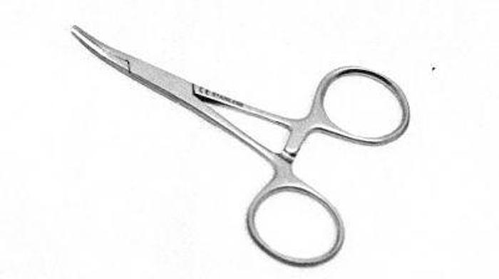 Used Forceps Artery Halsted Baby Mosquito Curved 90mm (3-1/2in)