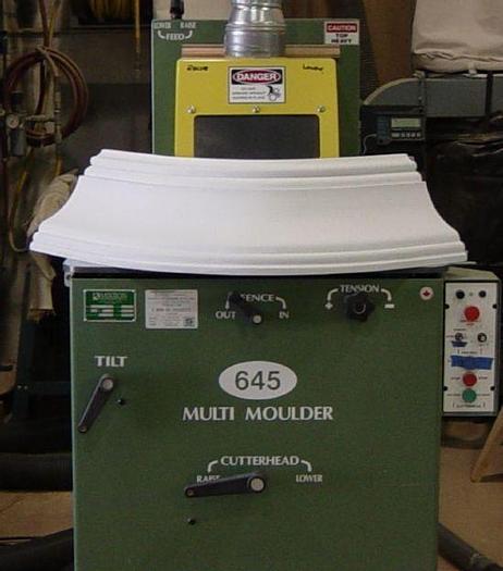 Used Mikron M645 Multi-Moulder Radius Moulder